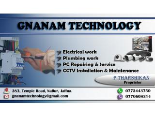 PC repair, Electric work, plumping work