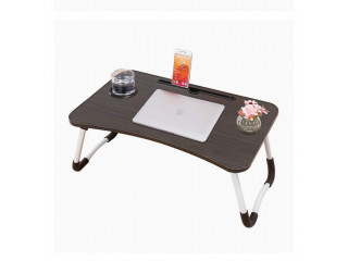Portable Bed top Laptop Table (Foldable)