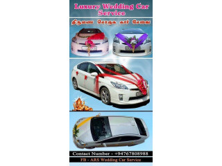 Wedding car for hire with driver