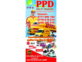 PPD International Express Parcel service Door to Door Delivery...
