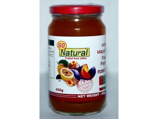 Palmyrah fruit pulp mixed with Passion fruit pulp Jam