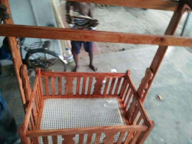 wooden-baby-cradle-for-sale-in-jaffna-big-2