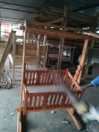 wooden-baby-cradle-for-sale-in-jaffna-big-1