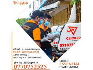 CLICKER.LK- Professional Home Delivery Service in Jaffna
