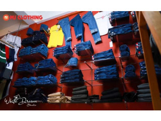 MJ Clothing Branded showroom